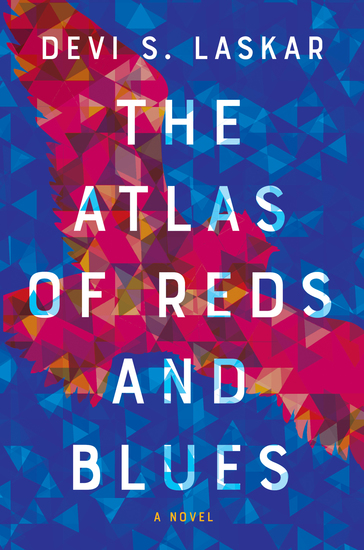 The Atlas of Reds and Blues - A Novel - cover