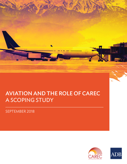 Aviation and the Role of CAREC - A Scoping Study - cover