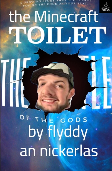 The Minecraft Toilet - Book 1 - cover