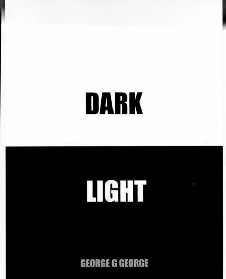 Dark Light - cover