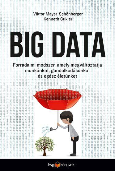 Big data - Forradalmi módszer amely megváltoztatja munkánkat gondolkodásunkat és egész életünket - cover