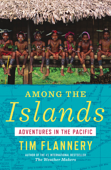 Among the Islands - Adventures in the Pacific - cover