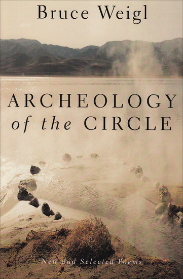 Archeology of the Circle - New and Selected Poems - cover