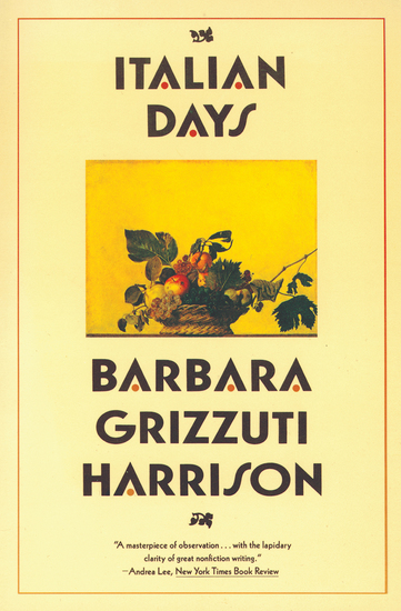 Italian Days - cover