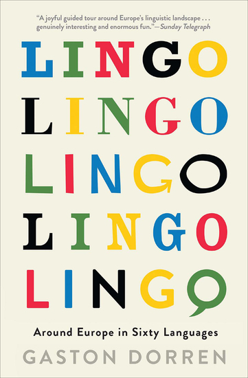 Lingo - Around Europe in Sixty Languages - cover