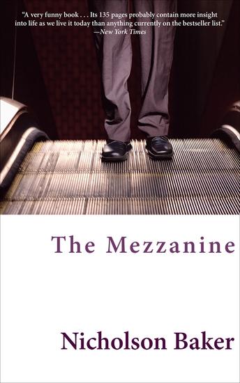 The Mezzanine - A Novel - cover