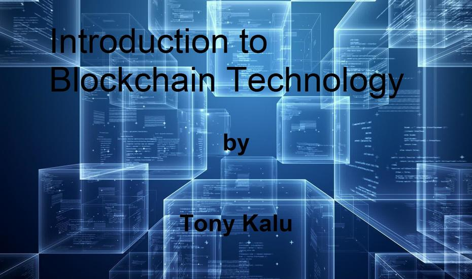 Introduction to Blockchain Technology - cover