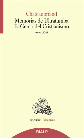 Memorias de Ultratumba - El Genio del Cristianismo - cover