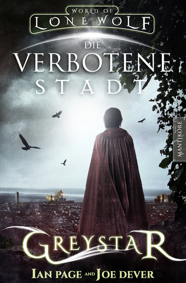 Greystar 02 - Die verbotene Stadt - Ein Fantasy-Spielbuch in der Welt des Einsamen Wolf - cover