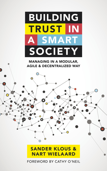 Building trust in a smart society - Managing in a modular agile and decentralized way - cover