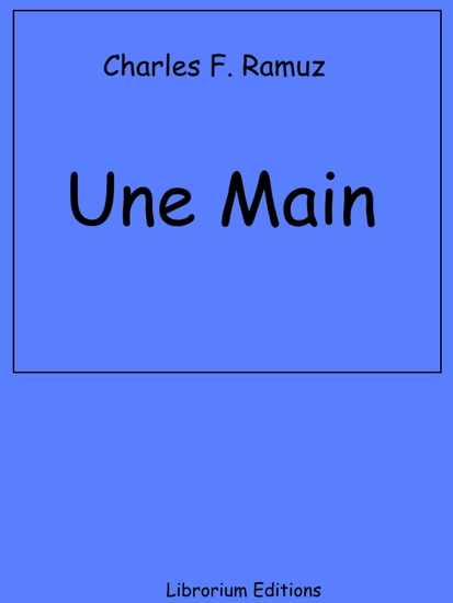 Une Main - cover