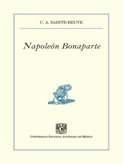 Napoleón Bonaparte - cover
