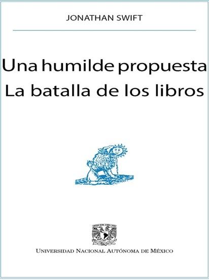 Una humilde propuesta La batalla de los libros - cover