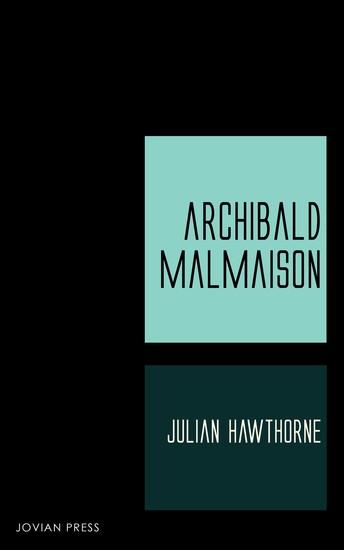 Archibald Malmaison - cover