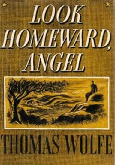 look homeward angel summary