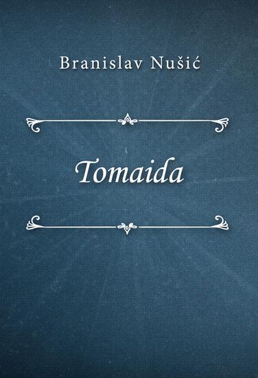Tomaida - cover