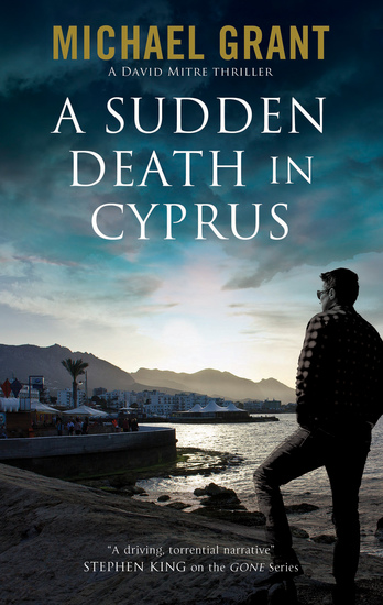 A Sudden Death in Cyprus - cover