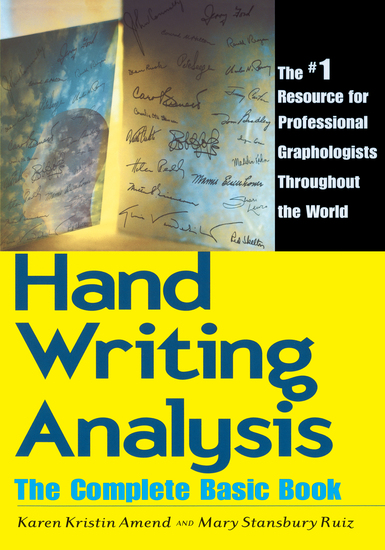 Handwriting Analysis - The Complete Basic Book - cover