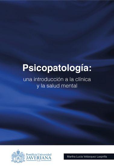 Psicopatología Una introducción a la clínica y la salud mental - cover