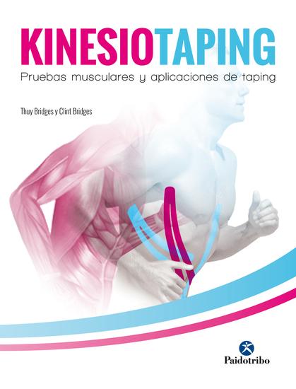 Kinesiotaping - Pruebas musculares y aplicaciones de taping (Color) - cover