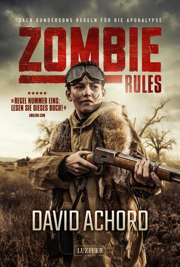 ZOMBIE RULES - Endzeit-Thriller - cover