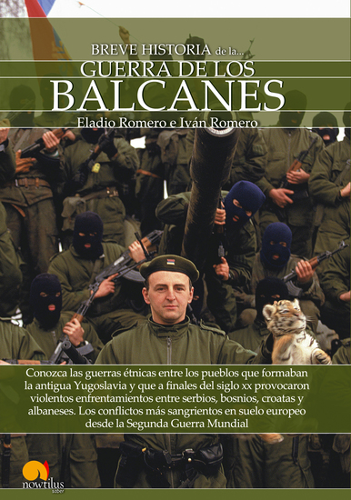 Breve historia de la guerra de los Balcanes - cover