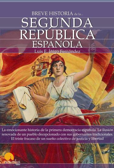 Breve historia de la Segunda República española - cover