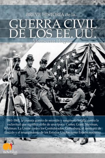 Breve historia de la guerra civil de los Estados Unidos - cover