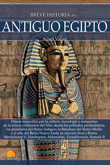 Breve historia del antiguo Egipto - cover