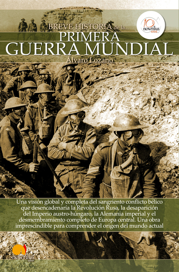 Breve historia de la Primera Guerra Mundial - cover