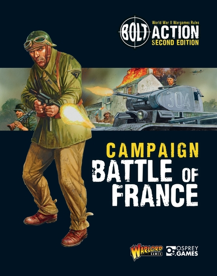 Bolt Action: Campaign: Battle of France - cover