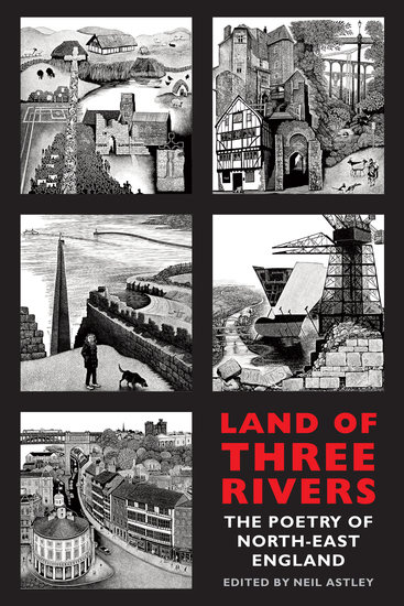 Land of Three Rivers - The Poetry of North-East England - cover