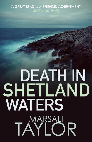 Death in Shetland Waters - cover