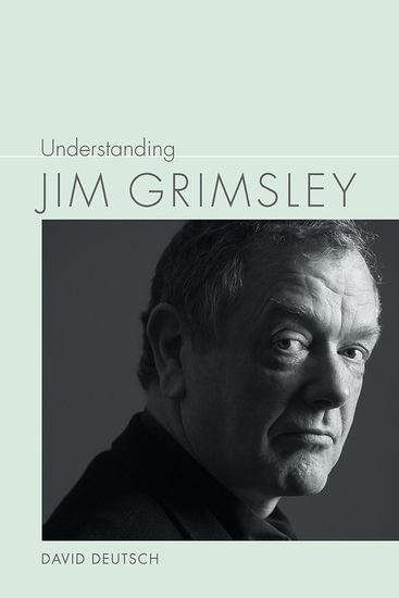 Understanding Jim Grimsley - cover