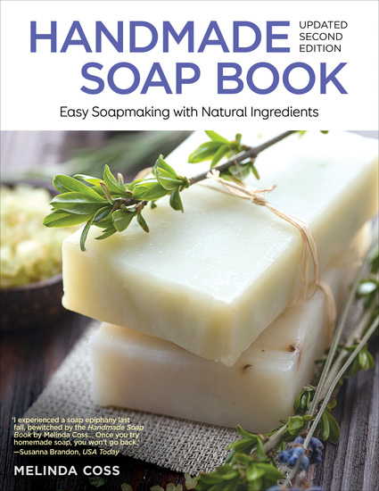 Handmade Soap Book Updated 2nd Edition - Easy Soapmaking with Natural Ingredients - cover