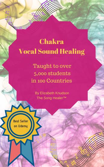 Chakra Vocal Sound Healing - Learn to heal energy with your sining voice - cover