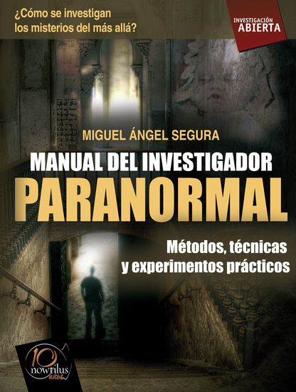 Manual del investigador paranormal - cover