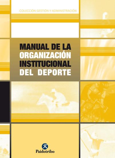 Manual de la organización institucional del deporte - cover