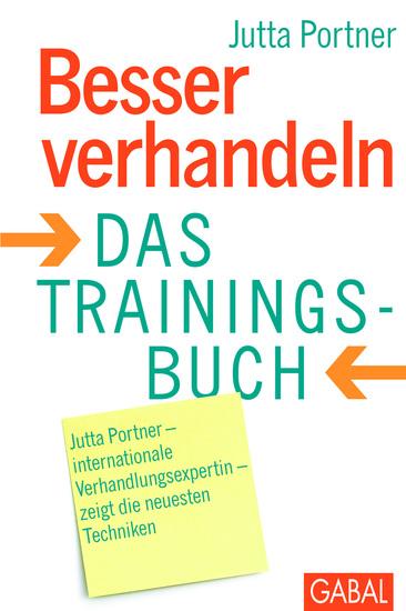 Besser verhandeln - Das Trainingsbuch - cover