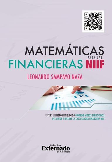 Matemáticas financieras para las NIIF - cover