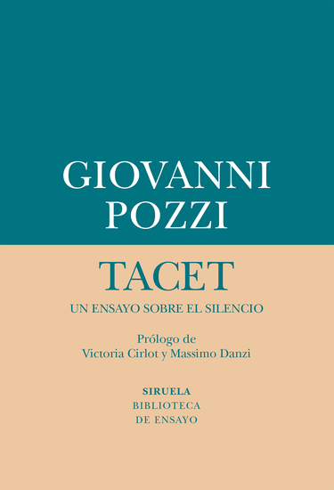 Tacet: un ensayo sobre el silencio - cover