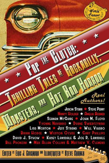 Pop the Clutch - Thrilling Tales of Rockabilly Monsters and Hot Rod Horror - cover