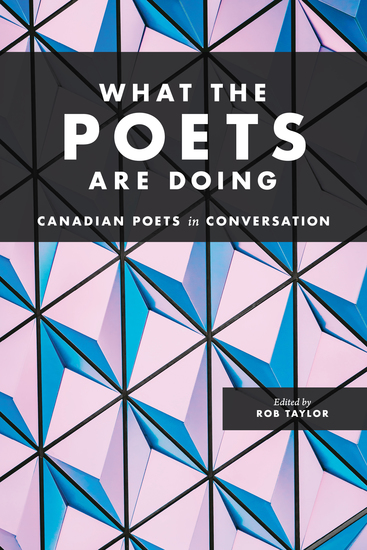 What the Poets Are Doing - cover