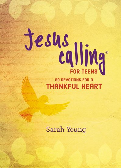 Jesus Calling: 50 Devotions for a Thankful Heart - cover