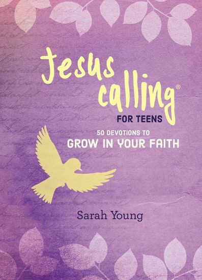 Jesus Calling: 50 Devotions to Grow in Your Faith - cover
