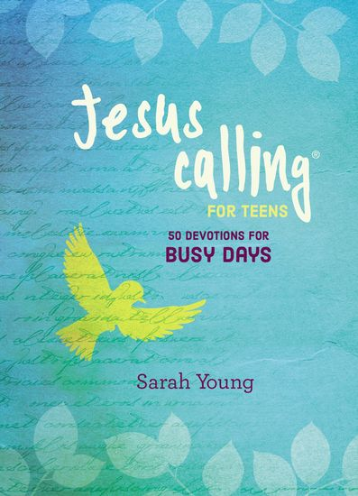 Jesus Calling: 50 Devotions for Busy Days - cover