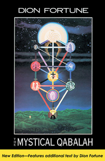 The Mystical Qabalah - cover
