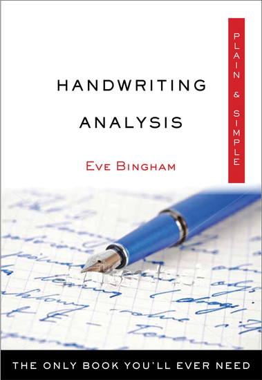 Handwriting Analysis Plain & Simple - The Only Book You'll Ever Need - cover