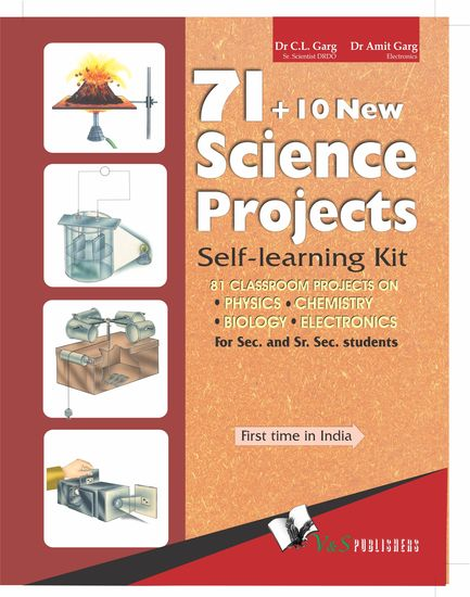 71+10 New Science Projects - Self learning kit - cover