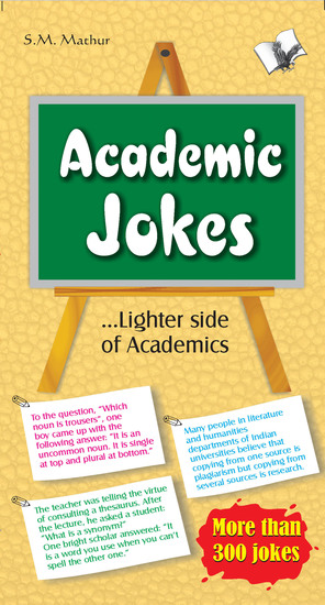 Academic Jokes - Laughter is the best medicine - cover